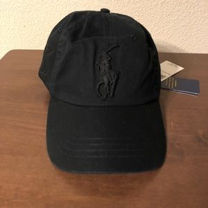 Black Polo Hat